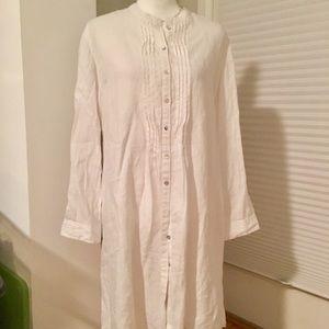 White Shirt Dress, sz 6